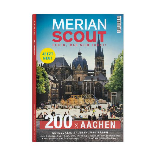 Merian Scout Magazin Aachen Titel