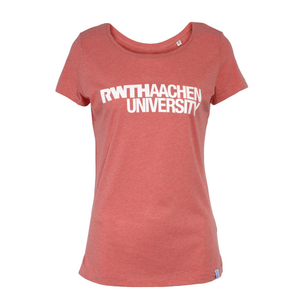 Basic T-Shirt Woman mid heather red