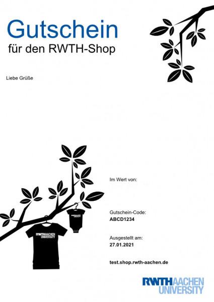 RWTH Gutschein