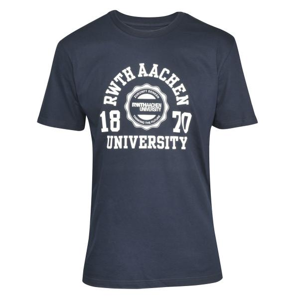 Herren T-shirt Premium Marshall navy
