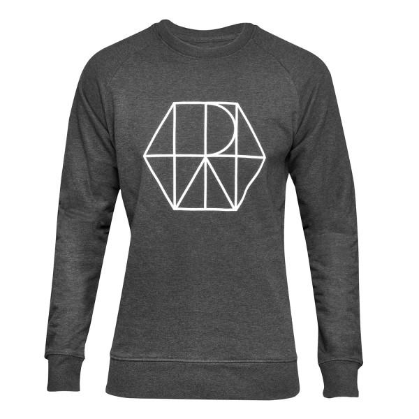 Herren Sweatshirt Premium Urban dark heather grey