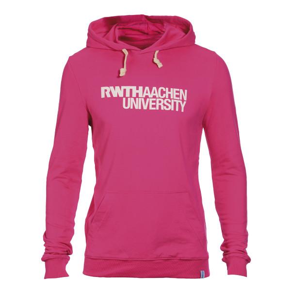 Basic Hooded Sweatshirt Unisex pink