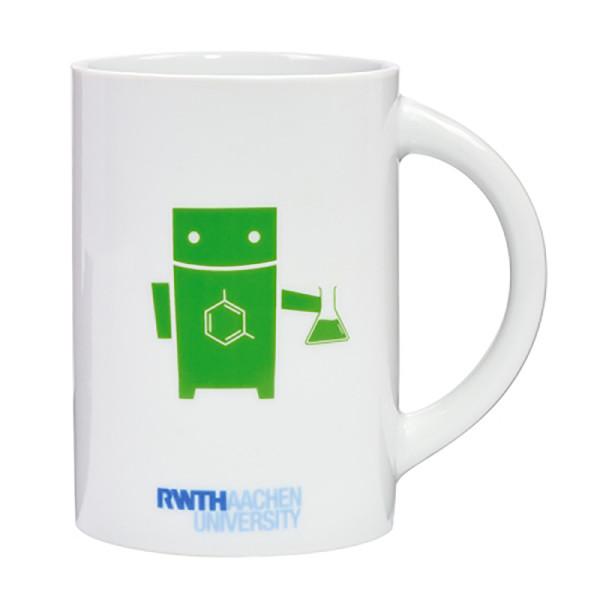 Tasse Roboter Chemie