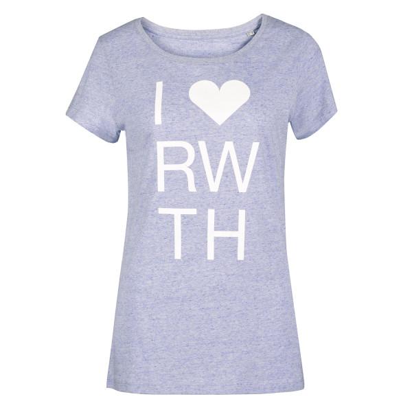 Damen T-Shirt Premium I Love RWTH