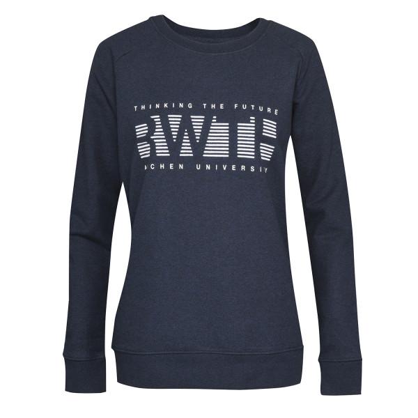 Damen Sweatshirt Limited Ed No6 blue