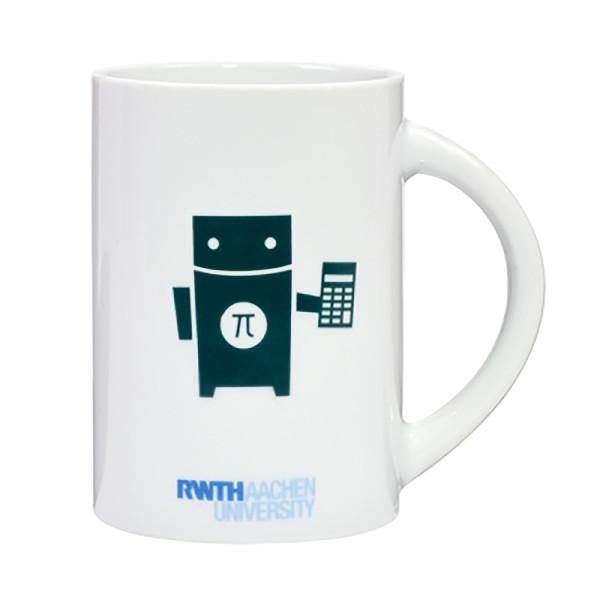 Tasse Roboter Mathematik