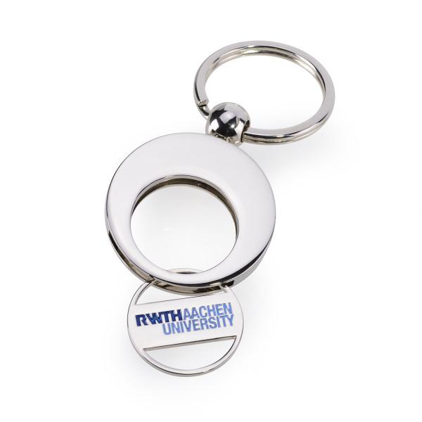 RWTH Schlüsselanhänger mit Logo auf Chip